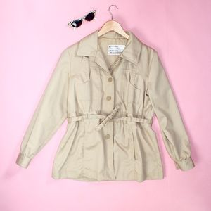(215) VTG 1970s Super Cute Beige Jacket